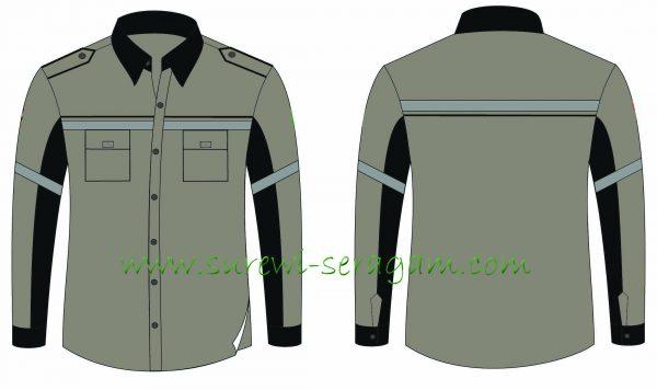 Contoh Desain Baju Tambang Yang Sesuai Dengan Standar Keselamatan
