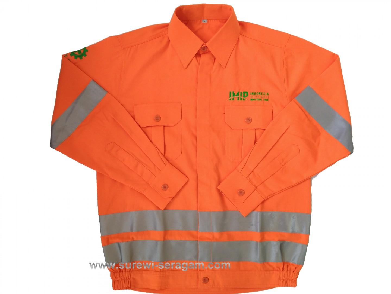 Baju Seragam Safety K3 Untuk Keselamatan Kerja Surewiwardrobe Bordir Logo Fist Gallery Of
