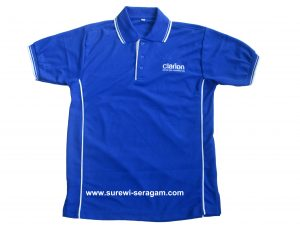 Supplier Kaos Seragam, Baik Lengan Pendek maupun Lengan Panjang